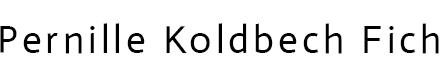 Pernille Koldbech Fich
